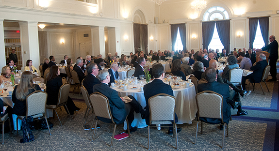 The University Club luncheon, hosted by Chancellor Nordenberg and Provost and Senior Vice Chancellor Patricia E. Beeson, was well attended.