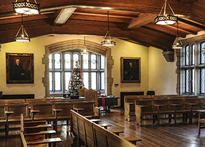 Pitt's English Nationality Room in the Cathedral of Learning