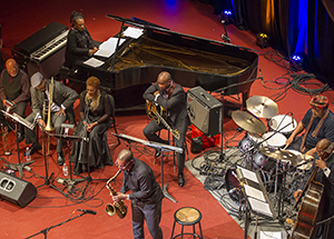 The musicians filled Carnegie Music Hall with their soulful and sometimes improvisational tunes.