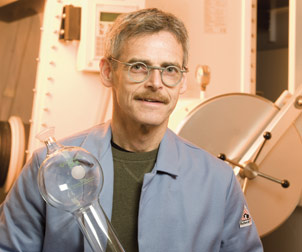 Peter Wipf, Distinguished University Professor of Chemistry, was instrumental in founding Pitt's Combinatorial Chemistry Center in 1998. The center was expanded in 2002 as part of a larger National Institutes of Health center initiative and became the University of Pittsburgh Center for Chemical Methodologies and Library Development. Wipf believes this type of diverse, multi-investigator center of excellence allows scholars to pool their expertise to discover novel therapies for major as well as neglected diseases.