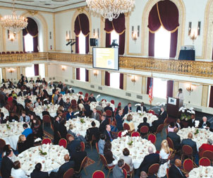 AAAC luncheon in the Omni William Penn Hotel, Downtown.
