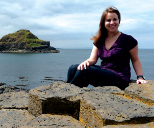 Michelle Everson, a global studies major with a concentration in conflict resolution, spent her summer in Northern Ireland.