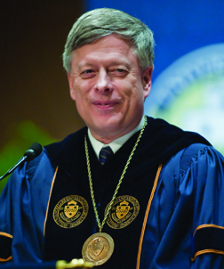 Pitt Chancellor Mark A. Nordenberg