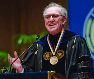 Pitt Provost and Senior Vice Chancellor James V. Maher was the event's keynote speaker.