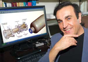 "Peyman Givi has received attention for his novel way of combining two modeling methods to provide an accurate way for engineers to experiment with engines even before they are built. Rolls-Royce and NASA engineers already use Givi's model to predict temperature differential, fuel usage, and emissions for different engine and fuel combinations. ""When you design an engine, you'd like to be able to know how it will work before you build it,"" says Givi, the William Kepler Whiteford Professor in the Department of Mechanical Engineering and Materials Science and director of the Laboratory for Computational Transport Phenomena at Pitt. ""Computer simulation allows people to do that."""