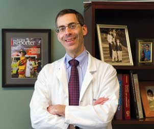 Steven Reis is director of Pitt's Clinical and Translational Science Institute (CTSI), which integrates existing programs with innovative new clinical and translational science initiatives under a common umbrella. Almost all of CTSI's pilot funding programs for research require investigators from different disciplines to work together. Reis is also a professor of medicine and associate vice chancellor for clinical research, health sciences.