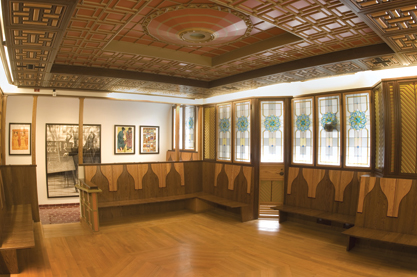 The room, designed to represent the main room in a traditional Turkish house with seating along the walls, is the newest addition to Pitt's 27 existing Nationality Rooms, all but two of which serve as functioning classrooms for Pitt students. Planning for the room began in 2001.
