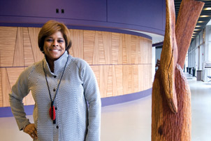 Yvonne Cook at Pittsburgh's August Wilson Center for African American Culture
