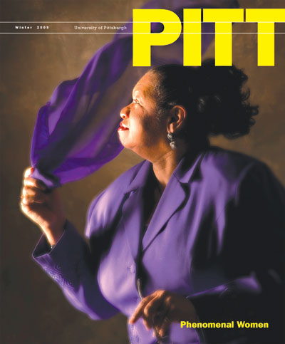 The Winter 2009 issue of Pitt Magazine with profiles honoring 12 of Pitt's phenomenal women.