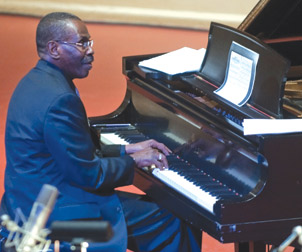 1. George Cables, piano;