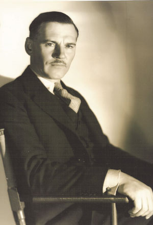 Walter Huston portrait by Clarence Sinclair Bull
