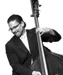 Leon Lee Dorsey, Pitt assistant professor of jazz studies and coordinator of Pitt's Jazz Studies Program, bass.