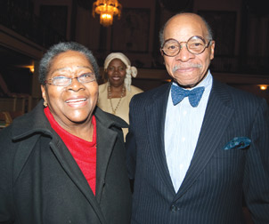 Vernell Lillie, documentary narrator, founder and artistic director of Pitt's Kuntu Repertory Theatre, and associate professor emeritus of Africana Studies at Pitt; and attorney Eric Springer, former Pitt faculty member and Courier columnist.